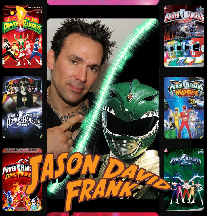 Green Power Ranger and MMA fighter Jason David Frank