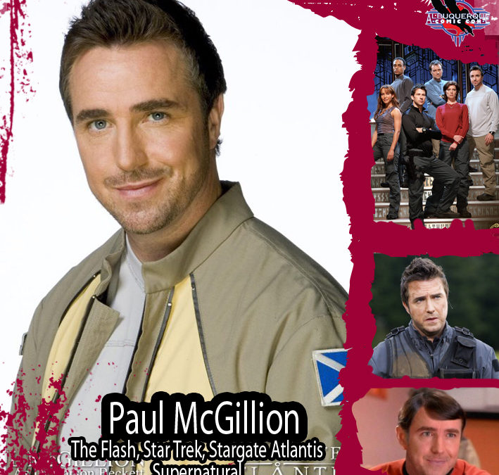 Paul McGillion (Cancelled)