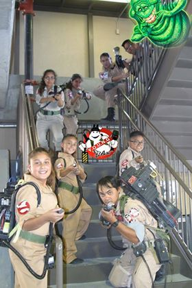 Young Ghost Busters